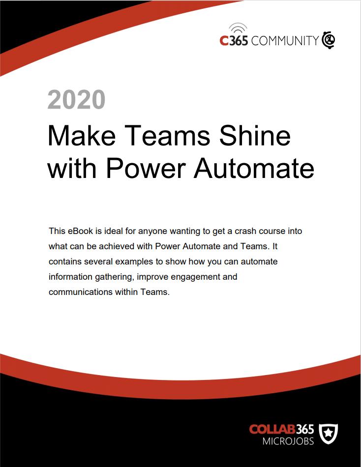 Make Microsoft Teams Shine with Power Automate