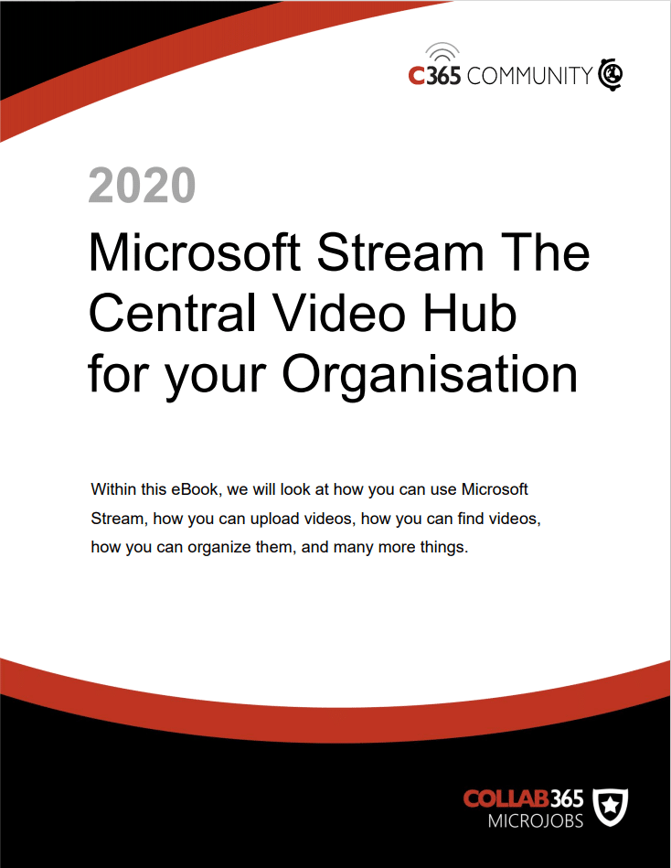 Microsoft Stream: The Central Video Hub for your organization
