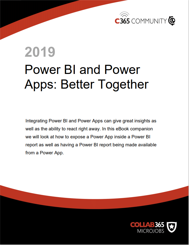 Power BI and Power Apps: Better Together